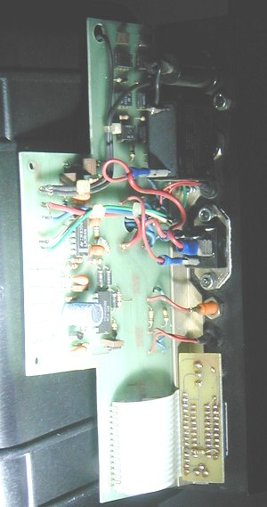 Rear of Dimmer Module