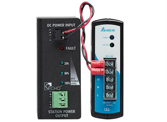 Echo Station Power Control DIN Front no rail