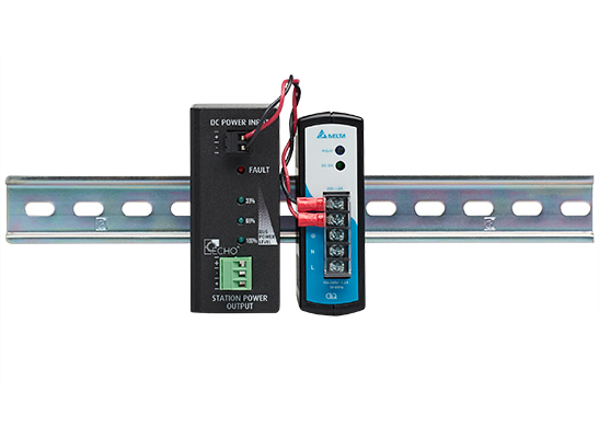 Echo Station Power Control DIN Front rail