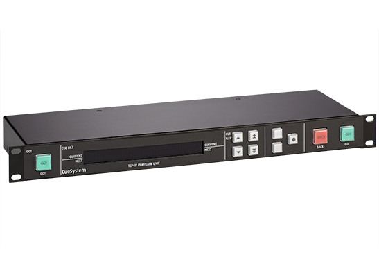 CueSystem Playback Rack right