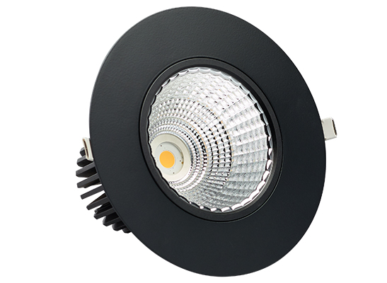 1 Cell Recessed black
