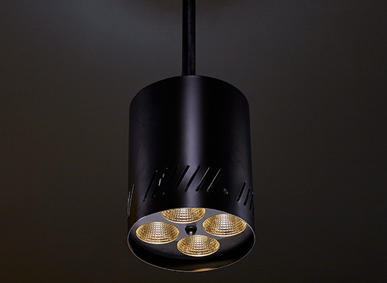 4 Cell Pendant install black