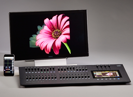 ColorSource Console 40AV media