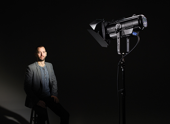 Source Four LED Fresnel Adapter - portrait product shot