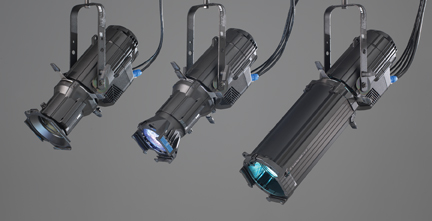 Source Four LED - Three Lens Options