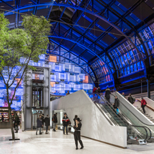 ETC Mosaic creates a stunning show for Oslo Central Station