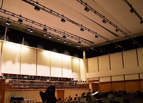 GDS ArcSystem LEDs cool down rehearsals for the Bastille Opera in Paris