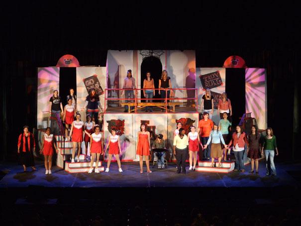 ETC lights Disneyu2019s High School Musical: On Stage