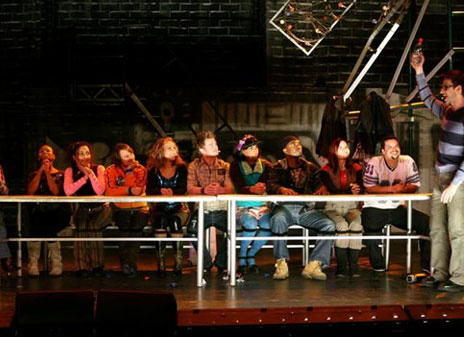 ETC lights South African tour of Rent