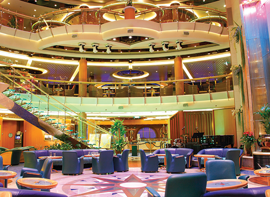 Cruise Ship Interior