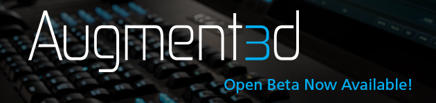 Augment3d Open Beta
