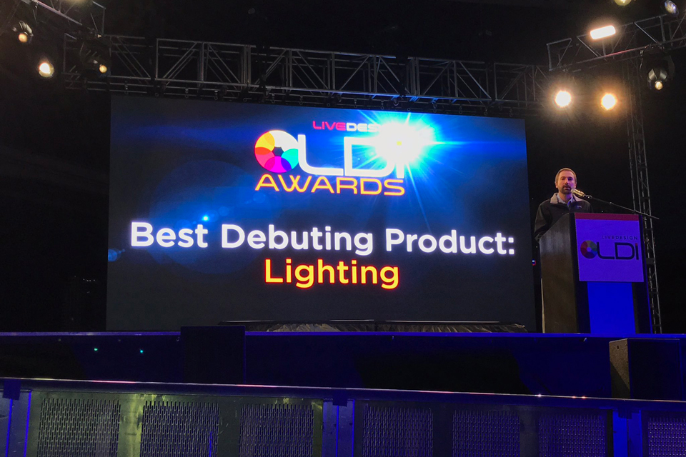 Etc S Colorsource Cyc Receives Ldi 2017 Best Debuting