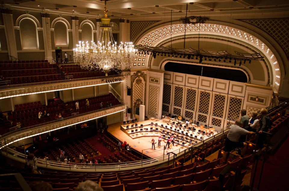 Cincinnati Music Hall installs custom ArcLamp