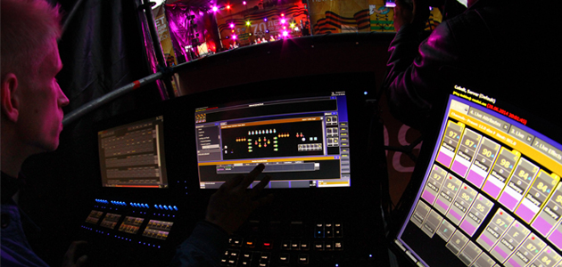 Lighting designer Ivan Malakhov uses Cobalt 20 for live control of lighting