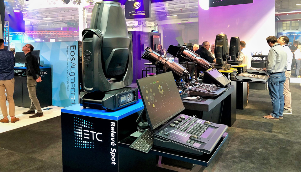 ETC Celebrates Augment3d award win at PLASA 2019