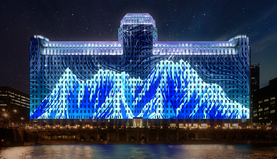 ETC's Mosaic in use on theMART