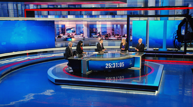 Israel Channel 1 studios