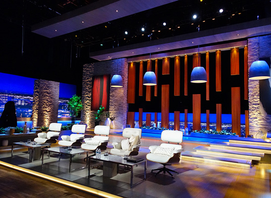 ETC Irideon Fixtures Make Shark Tank Shine