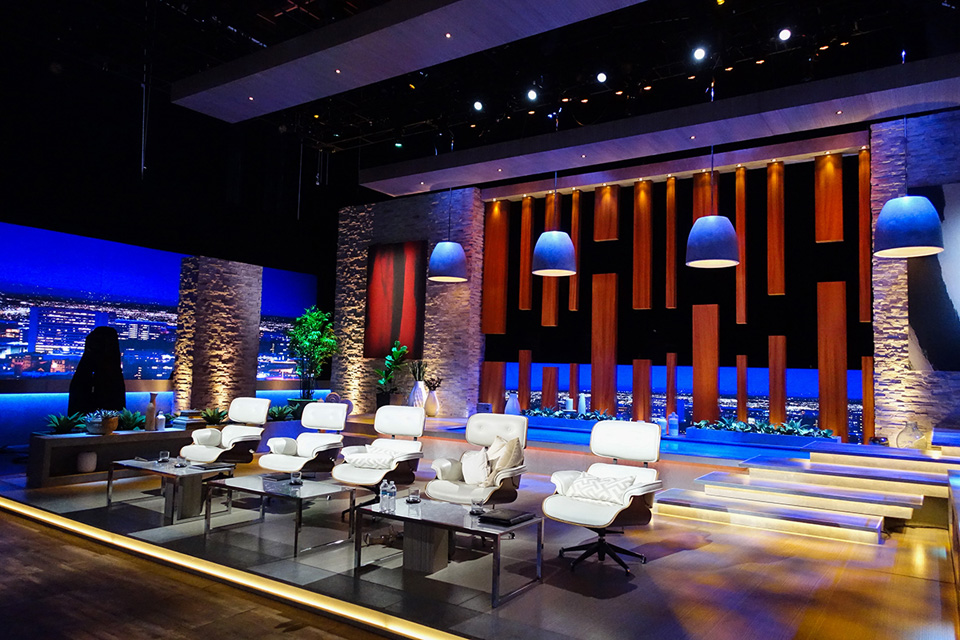 ETC lighting & Shark Tank
