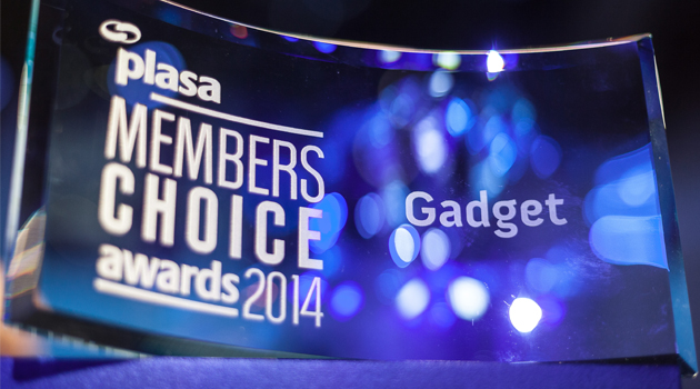 ETC Nomad, PLASA Members Choice Award
