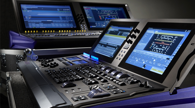 ETC Cobalt lighting control desk