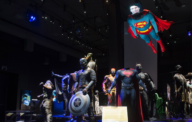 Hollywood Costume exhibition with ETC LEDs