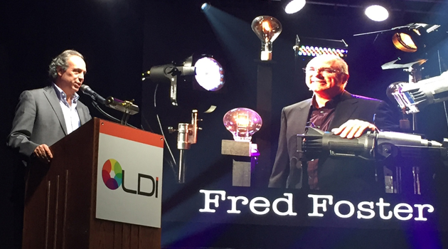 Fred Foster honored with Paky Award