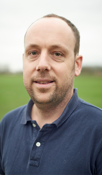 Regional manager Darren Beckley