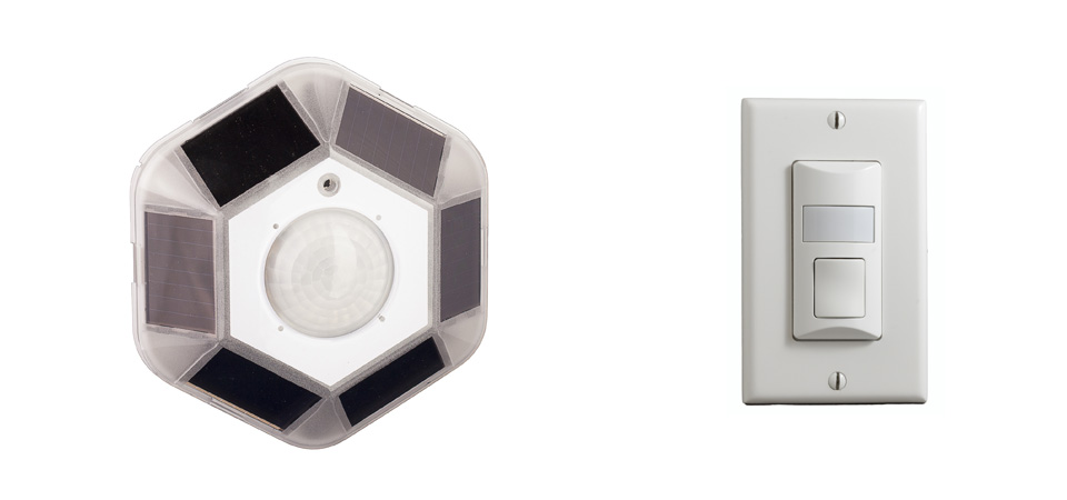 MOS Dual Tech Sensors and OWS Wall Switch Sensors