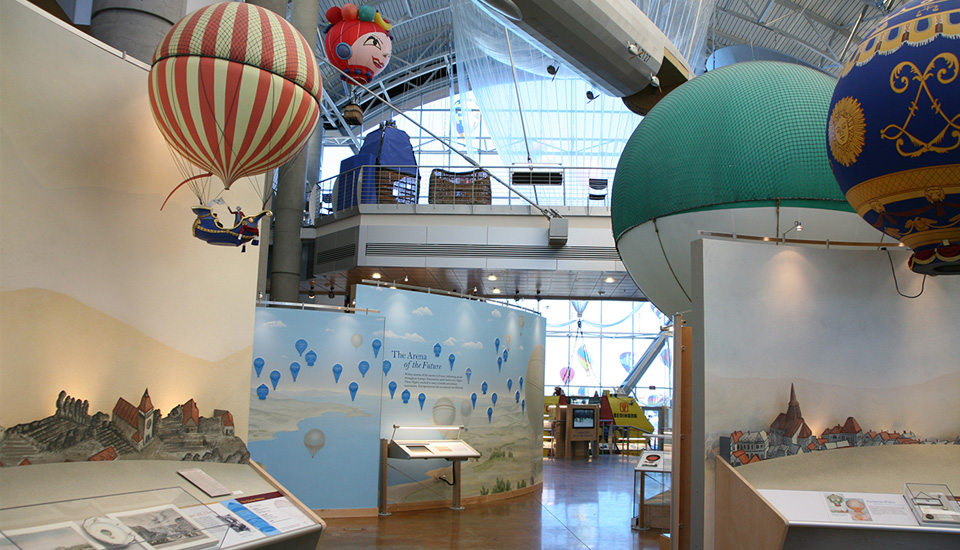 The Balloon Museum's Great Hall