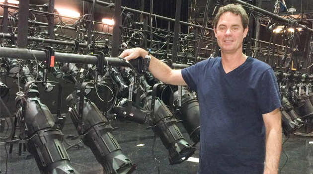 Glee lighting designer Andrew Glover