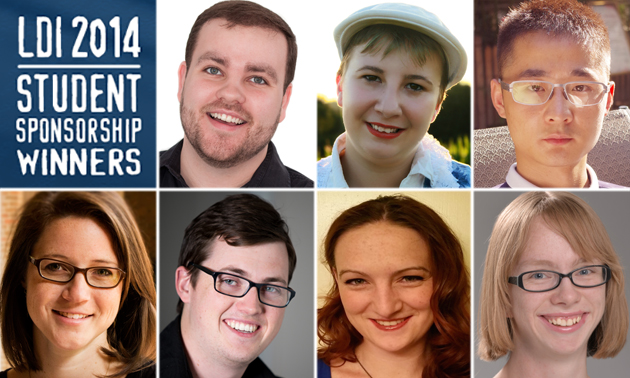 The winners of 2014's LDI Student Sponsorship
