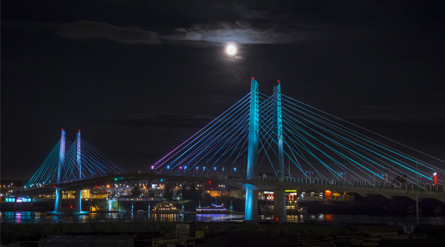 Tilikum Crossing, Bridge of the people (Photo credit - Photo courtesy of TriMet)