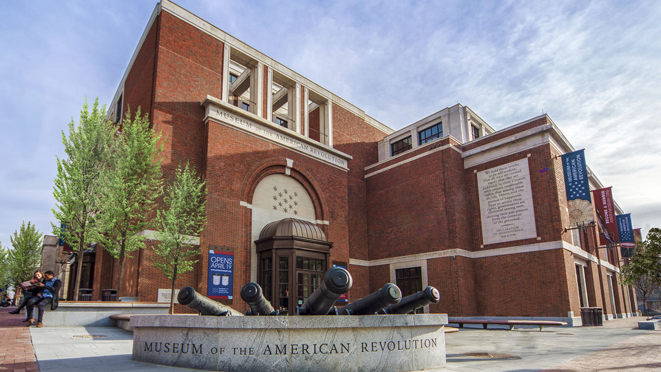Museum of the American Revolution in Philadelphia