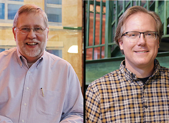 Steve Terry and Dennis Varian move into new roles at ETC