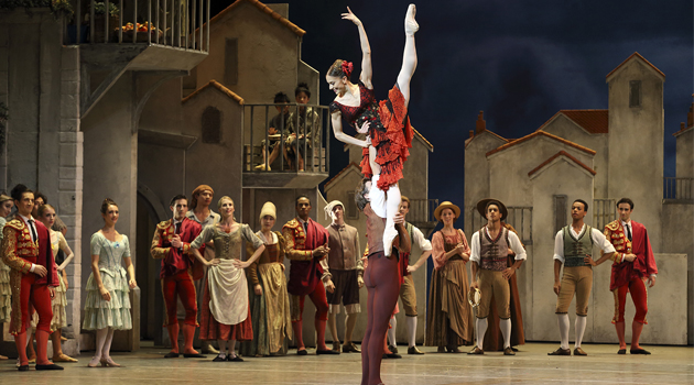 ETC Source Four LED lit Don Quixote by London's Royal Ballet at the Shanghai Grand Theatre