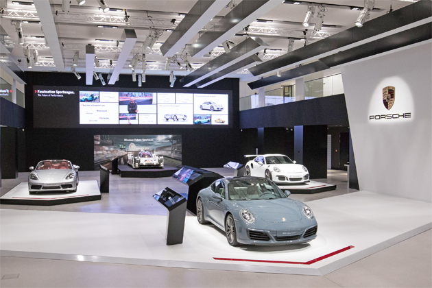 ETC drives Volkswagen exhibition venue