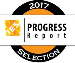 Selo do Relatório de Progresso 2017 do IES