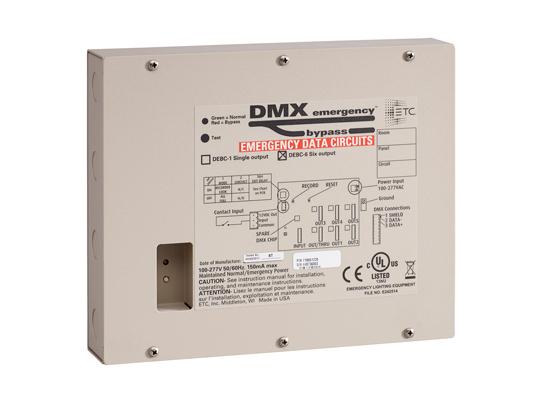 DMX Emergency Bypass Controller