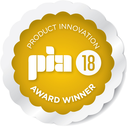 PIA 2018 award badge