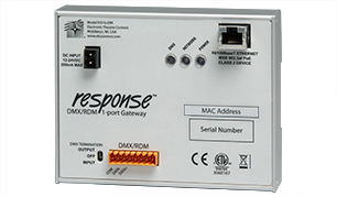 Response DMX/RDM One-Port Gateway